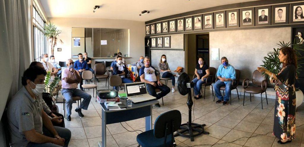 CIDES realiza reunião em Ipiaçu com lideranças municipais para esclarecimentos sobre o Serviço de Inspeção Municipal CIDES